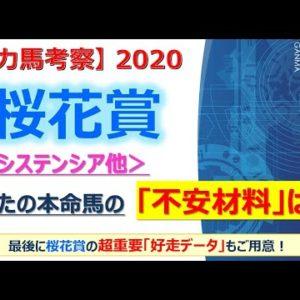 【桜花賞2020 有力馬考察】レシステンシア他 人気馬5頭を徹底考察!