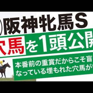 阪神牝馬S 2020 【予想/データ】☆穴馬を1頭公開中!牝馬限定で使えるデータも!