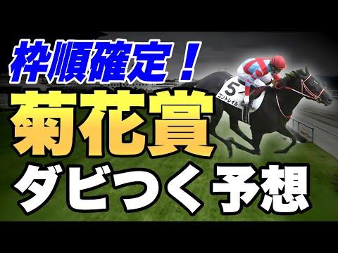2020菊花賞をダビつくでシミュレーション!枠順確定【競馬予想】