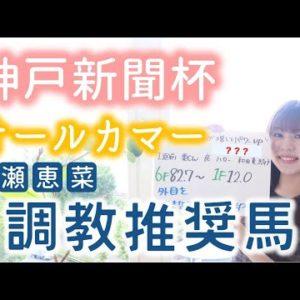 【神戸新聞杯&オールカマー】無敗の二冠馬コントレイル 最終追い切りからも期待大!!